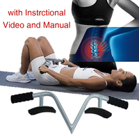 Spinal Traction Device Portable Back Pain Relief Treatment with Instruction Video and Manual Lobak Trax Lo Look Trax Lo bak Trax