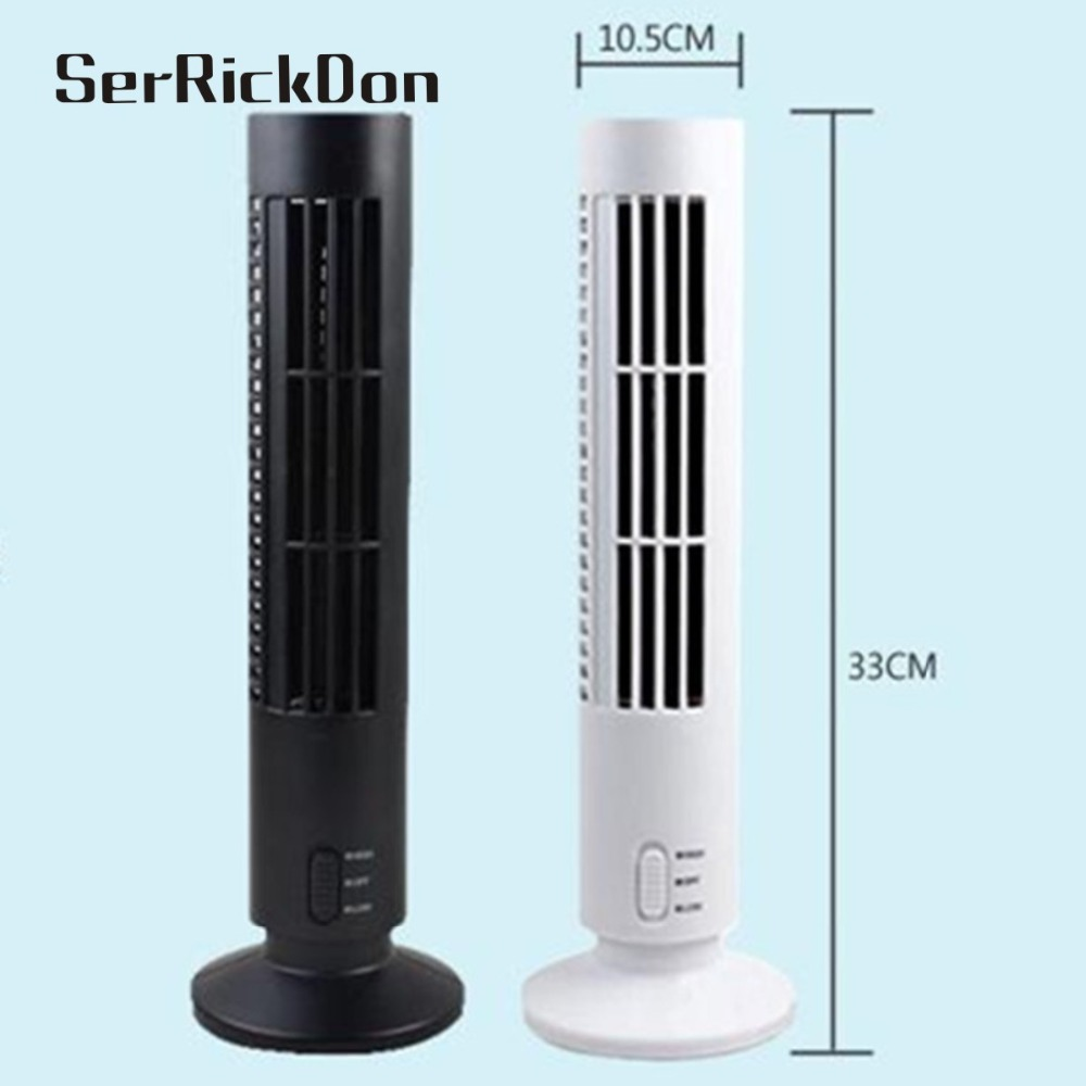 Ny 5V 2.5W Mini Portable Cooling Purifier Air Conditioner Tower - Husholdningsapparater - Foto 4