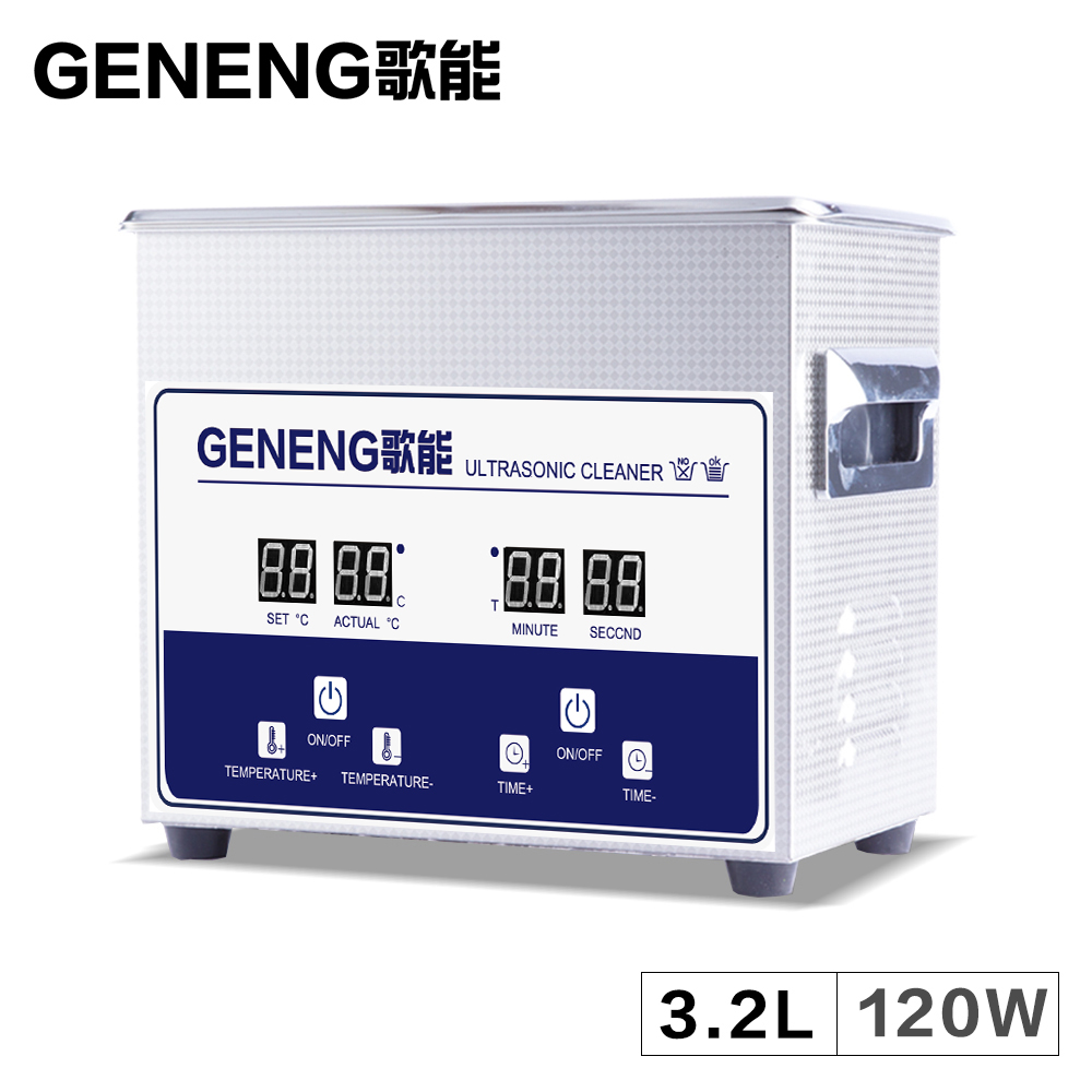 Digital Ultrasonic Cleaner Washer 3.2L Bath Mold Metal Parts Circuit Board Instrument Tank Circuit Board 3L Heated TimeDigital Ultrasonic Cleaner Washer 3.2L Bath Mold Metal Parts Circuit Board Instrument Tank Circuit Board 3L Heated Time