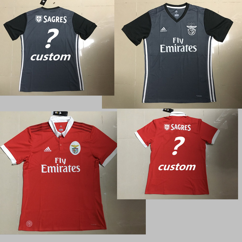 2017 HOT SALES 2018 BEST QUALITY ADULT Benfica SOCCER JERSEY 17 18 HOME  AWAY BLUE 3RD WHITE 17 18 MEN SHIRT FREE SHIPPING on Aliexpress.com  62a3c7cd9
