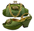 African shoes and bag set for women,African woman italian shoes and bags set to match with PU material,GF30 size 38-41