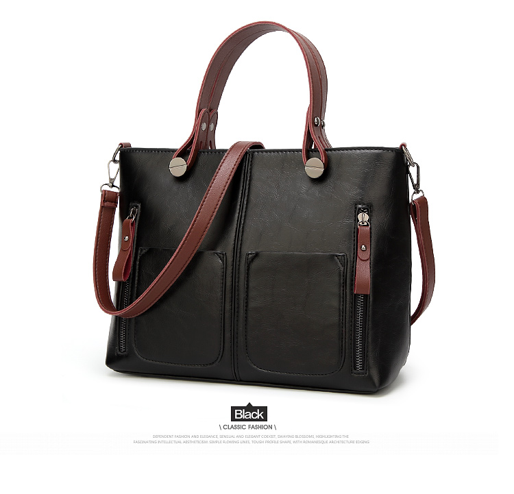 Tinkin Vintage   Shoulder Bag Female Causal Totes for Daily Shopping 8