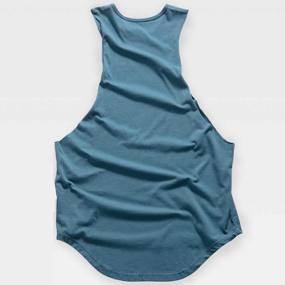 ジムストリンガー綿メンズタンクシャツトップスレジャーフィットネス Musle ベスト服タンクトップ男性ノースリーブシングレットトップ男性