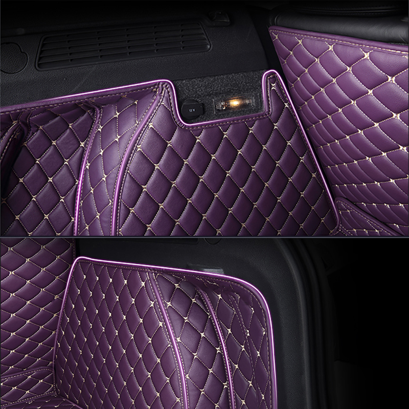 Image 5 - HeXinYan Custom Car Trunk Mats for Haval all models H1 H6 H8 H2 H3 H5 H9 H7 H2S H6coupe car styling auto accessories