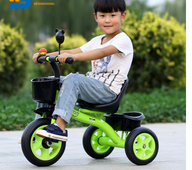 Useful 1pc Kids Walker Cartoon No Foot Pedal Lightweight Four Wheel Scooter Driving Bike Balance Bikes For Toddlers Baby Children Mother & Kids Activity & Gear