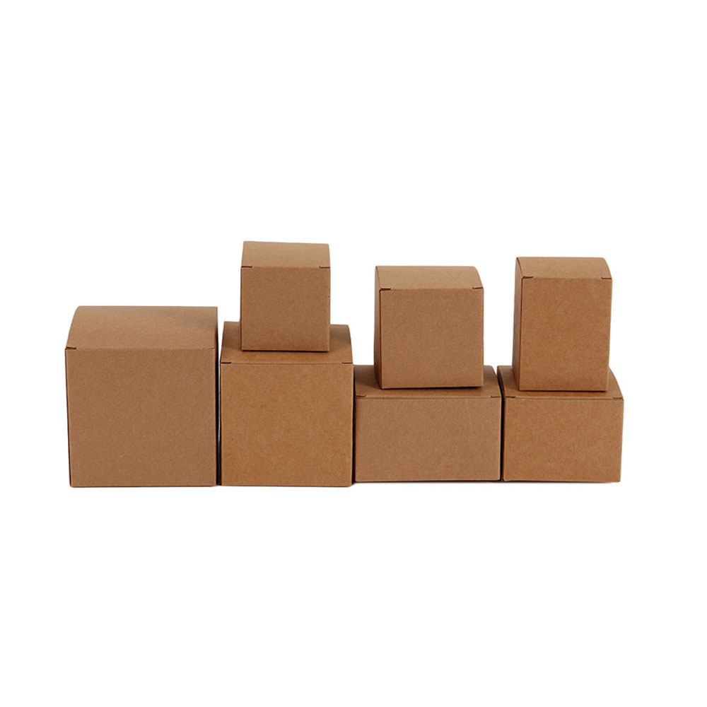 100pcs DIY Kraft Paper Candy Box Wedding Favors Gift Party Supply Birthday Christmas Par ...