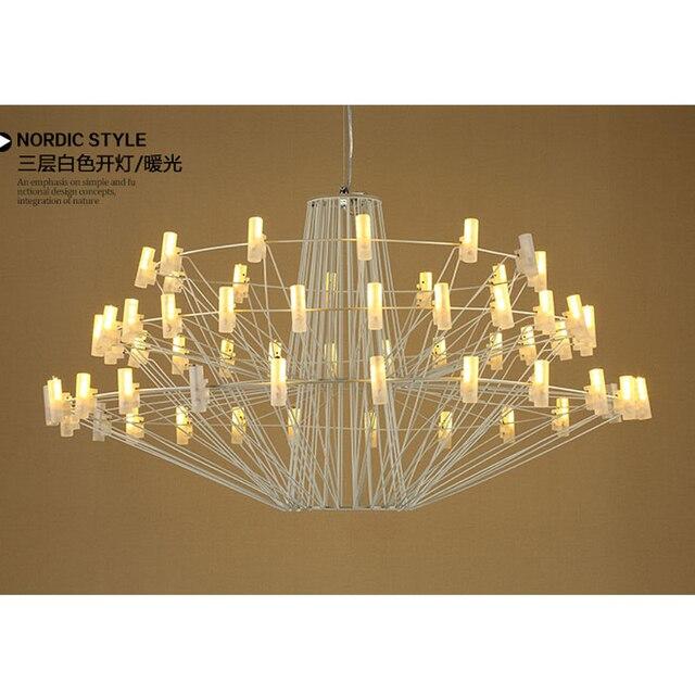 Postmodernen Kunst Kronleuchter Beleuchtung Moderne Led Eisen Kronleuchter  Für Esszimmer Schlafzimmer Zimmer Voller Stern Sternenlicht AC