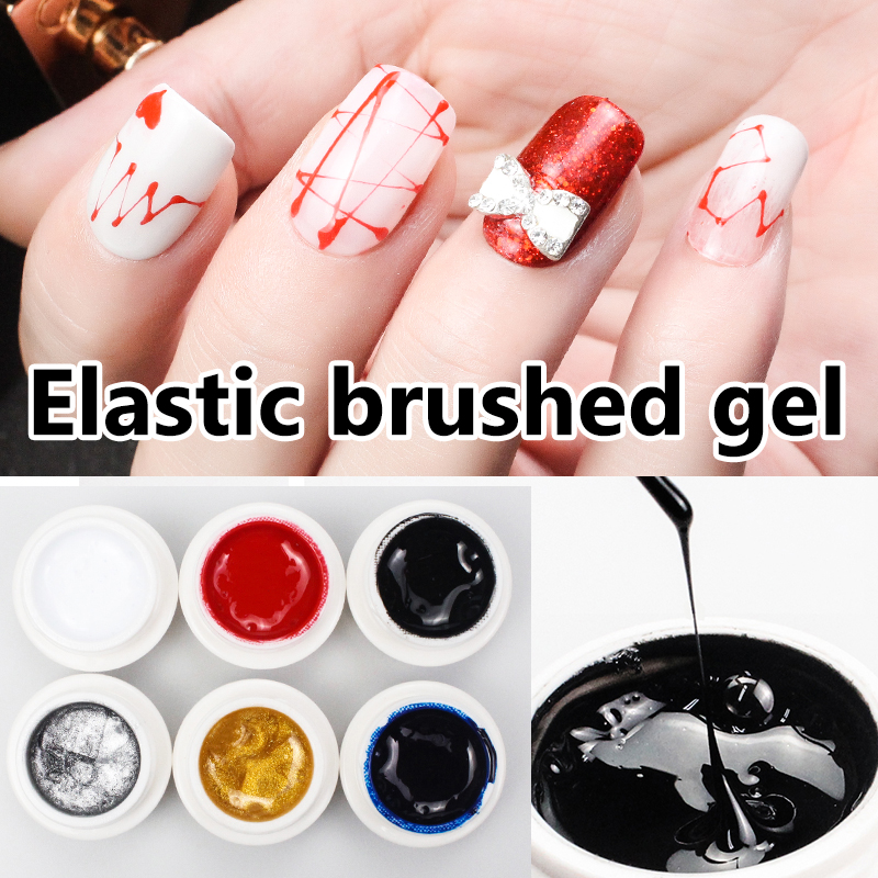 CoKEKOU 45g Quick extend soak off UV&led builder nail gel fake tips ...