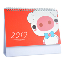 Buy large desk calendar and get free shipping on aliexpress new 2019 year cartoon pigworld map large calendar creative desk calendar multifunction organizer schedule gumiabroncs Gallery
