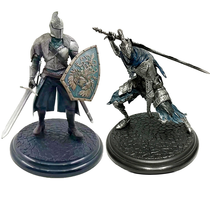 18cm Game Dark Souls Faraam Knight Artorias The Abysswalker PVC Action Figure  Collectible Model Toy 2 Styles hot game dva d va pvc action figure collectible model toy 21cm kt3565