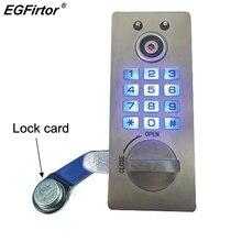 Hause Edelstahl Stahl Passwort Türschloss Elektronische Smart Lock Passwort Schrank Smart Sperre Locker Hotel Schloss Datei Lock