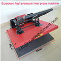 60x80 см большой высокого давления руководство тепло пресс-машина