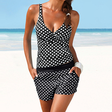 Dots Two Piece Push Up Swimsuit