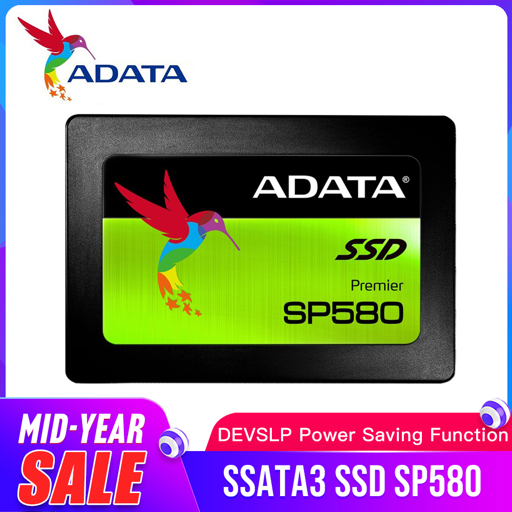 ADATA SP580 <font><b>SSD</b></font> <font><b>120GB</b></font> 240GB 480GB SATA3 2.5 inch Internal Solid State Drive HDD Hard Disk <font><b>SSD</b></font> Notebook <font><b>PC</b></font> 120G Laptop image