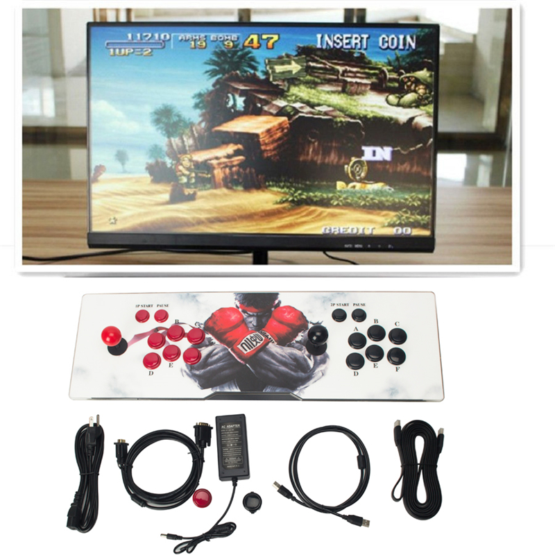 1299 in 1 Box 5S 986 in 1 / 999 in 1 Home Arcade Game Console HDMI/ VGA Output Jamma Arcade Cabinet Street Fighters free shipping pandora box 4s 815 in 1 jamma mutli game board arcade mutligame pcb vga hdmi signal output for arcade game cabinet
