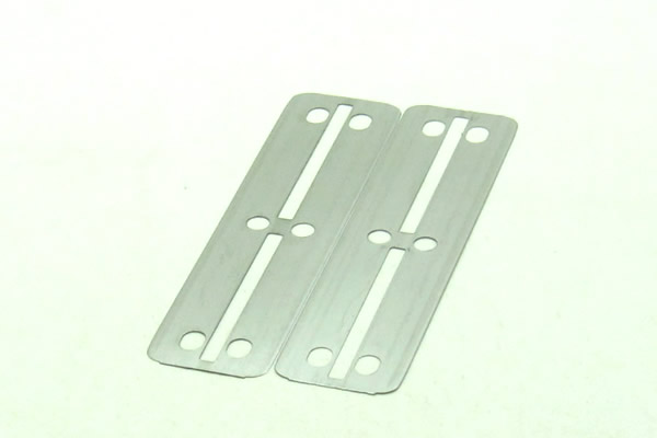 Cloud 100 pcs Per Lot Japan 6CR13 Stainless Steel Double Edge Blade Safety Razor Blade,Easy to Use for Personal LZS0108