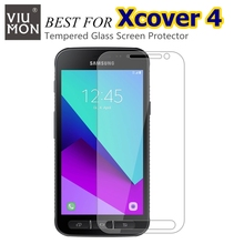 New Arrival Explosion-Proof 2.5D 9H Front Clear Screen Protector For Samsung Glaxy Xcover 4 G390F Tempered Glass Protective Film
