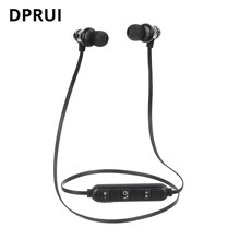 XT11 Magnetic Bluetooth Earphone Wireless Earphones with Microphone For iPhone Xiaomi Neckband Sport Earphone In-ear Headset(China)
