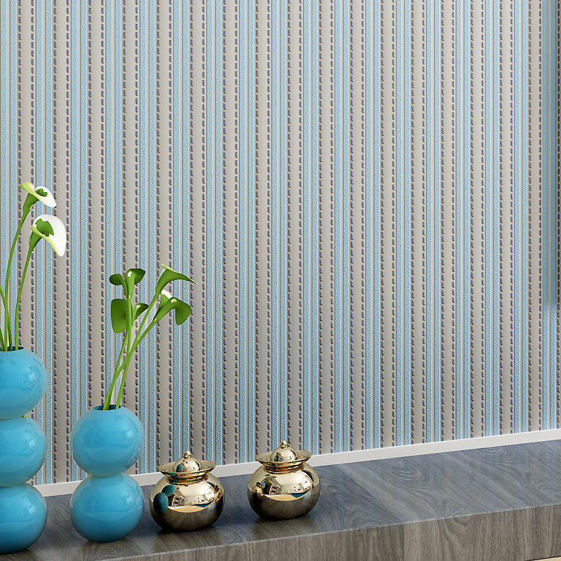 Modern Wallpaper for Walls Striped Wallpaper Roll,Non Woven Wall Paper Stripe for Bedroom Walls Greenpapel de parede listrado living room bedroom wallpaper roll modern solid color non woven thin vertical stripe wall paper mural for walls papel de parede