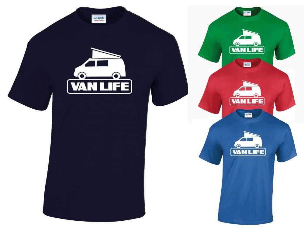 6476be2003f7 Van Life Adult T-Shirt All Sizes - Camper Van Rv Motor Home Camping T4
