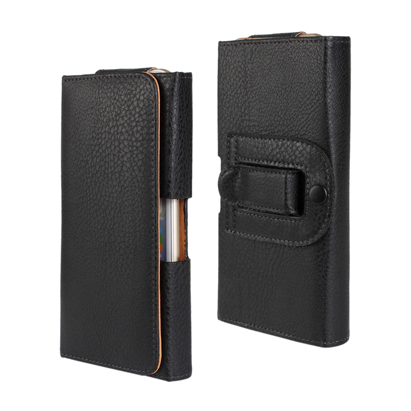 for Redmi 4X Classic PU Leather Belt Clip Holster <font><b>Phone</b></font> Pouch Bag <font><b>Case</b></font> for iPhone X 6 S 7 8 Plus Flip Universal <font><b>Case</b></font> 4.7&#8221; 5.5&#8221;