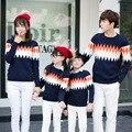 2016 winter children sweater printing all-match turtleneck jacket backing