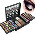 Pro 78 Color Full Makeup Collection Glitter Matte Eye Shadow Palette Natural Earth Smokey Naked Push-Pull Stage Makeup Maquiagem