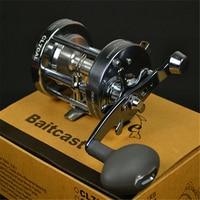 70 Full Metal Drum Fishing Reel 3 Bearing Trolling Wheel Fishing Vessel