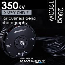 Dualsky 350KV brushless motor XM7010HD-7 pertanian kamera UAV drone multi-rotor disc motor