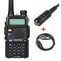 Baofeng uv5r two way radio Dual-Band UV5R ham radio walkie talkie cb radio with USB Programming and RH-771 Antenna