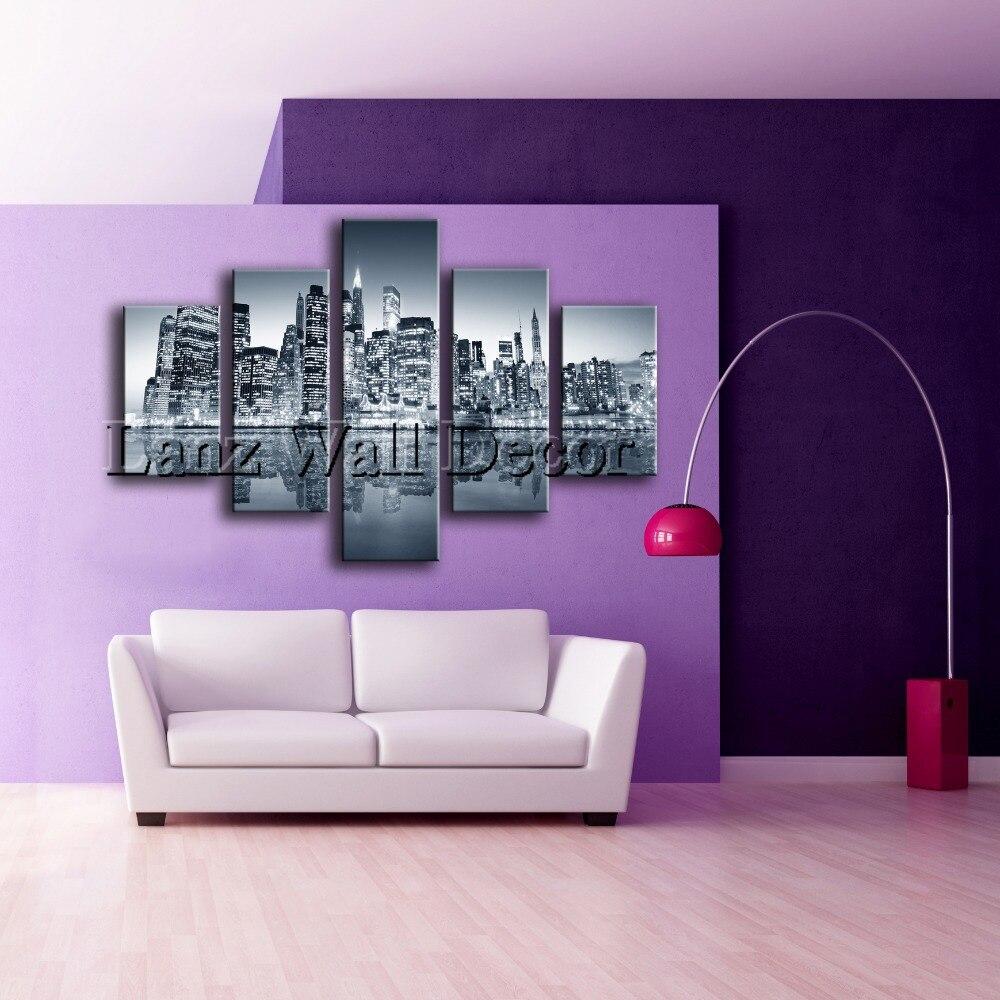 Aliexpress 5 Pieces Oil Painting Canvas Prints Landscape