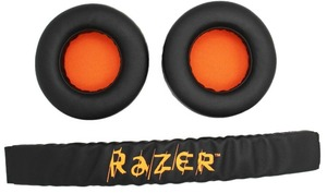 Image 3 - 1 Set Replacement Headband Head band parts + Ear pads Cushion For Razer Kraken Pro 7.1 or Electra Gaming Headphones