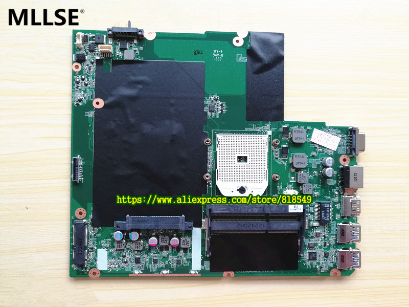 High Quality Main board Fit For Lenovo Z585 Notebook motherboard Socket SF1 DDR3 DALZ3BMB6E0 REV E, 100% WORKING 574680 001 1gb system board fit hp pavilion dv7 3089nr dv7 3000 series notebook pc motherboard 100% working