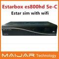 Satélite reciben estarbox cable es800hd se-c wifi dm800se-c Enigma2 trabajar para OE2.0 multimedia OEM versión estar sim caliente vender
