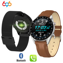 696 L7 ECG PPG smart watch with electrocardiograph ecg displ