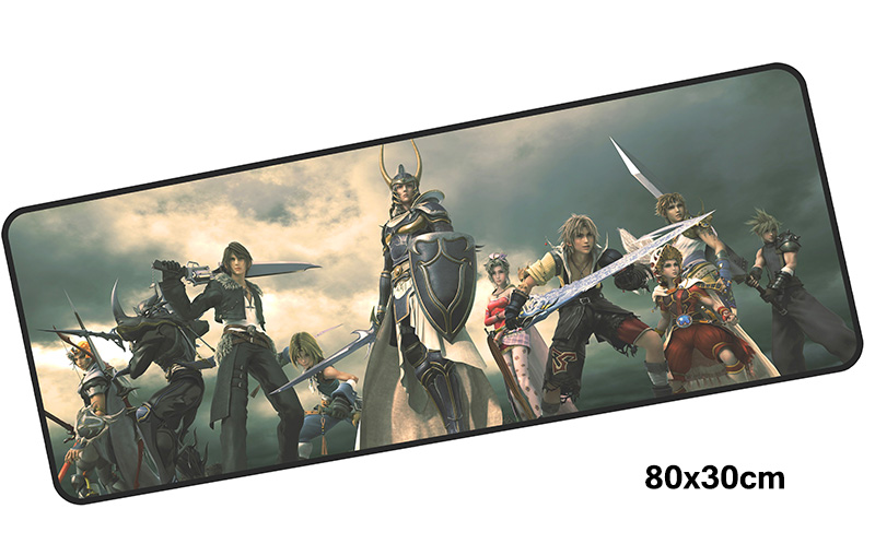 final fantasy mousepad gamer 800x300X3MM gaming mouse pad large Adorable notebook pc accessories laptop padmouse ergonomic mat