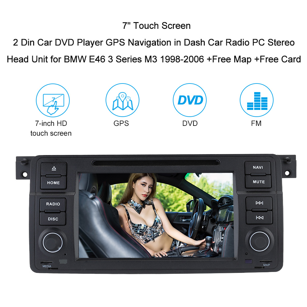 7 u0026quot  touch screen 2 din car dvd player gps navigation in