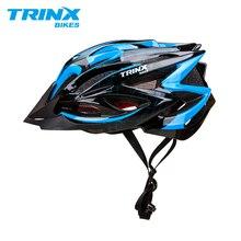 TRINX велосипедный шлем для велосипедистов велосипед шлем профессиональный MTB горная дорога шлем гоночный велосипед регулируемая Безопасная крышка