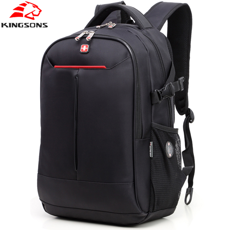 SVVTSSCFAP Men's Backpack Laptop Backpack Nylon Waterproof Men Women Computer Notebook Bag Large School Bag for Boys Girls kingsons brand waterproof men women laptop backpack 15 6 inch notebook computer bag korean style school backpacks for boys girl