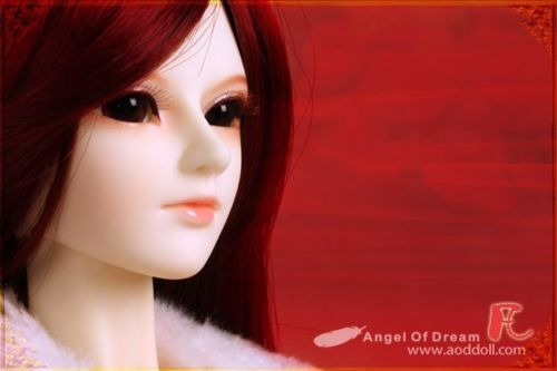 [wamami] AOD 1/3 BJD Dollfie Girl Set* FREE FACE UP/EYES/~Fan [wamami] aod 1 3 bjd dollfie girl set free face up eyes hui xiang