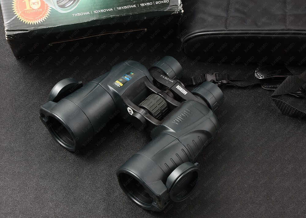 Yukon 7x50 WA binoculars telescope water proof hunting shooting M5494 бинокль yukon 12x50 wa