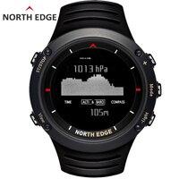 Северная край Для мужчин спортивный цифровые часы Бег Плавание Спортивные часы высотомер барометр компас термометр погода Для мужчин