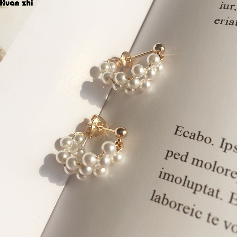 Double Side Wide Earrings