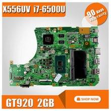 Для ASUS X556U X556UV X556UV X556UB X556UR материнской Процессор i7-6500U REV: 3.0 GeForce 920 м 2 ГБ 100% тестирование