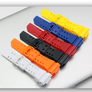 Image 5 - Acessórios de relógio 16mm pulseira de resina para casio gba/GA 400 preto G SHOCK caso pulseira de relógio de desporto masculino e feminino
