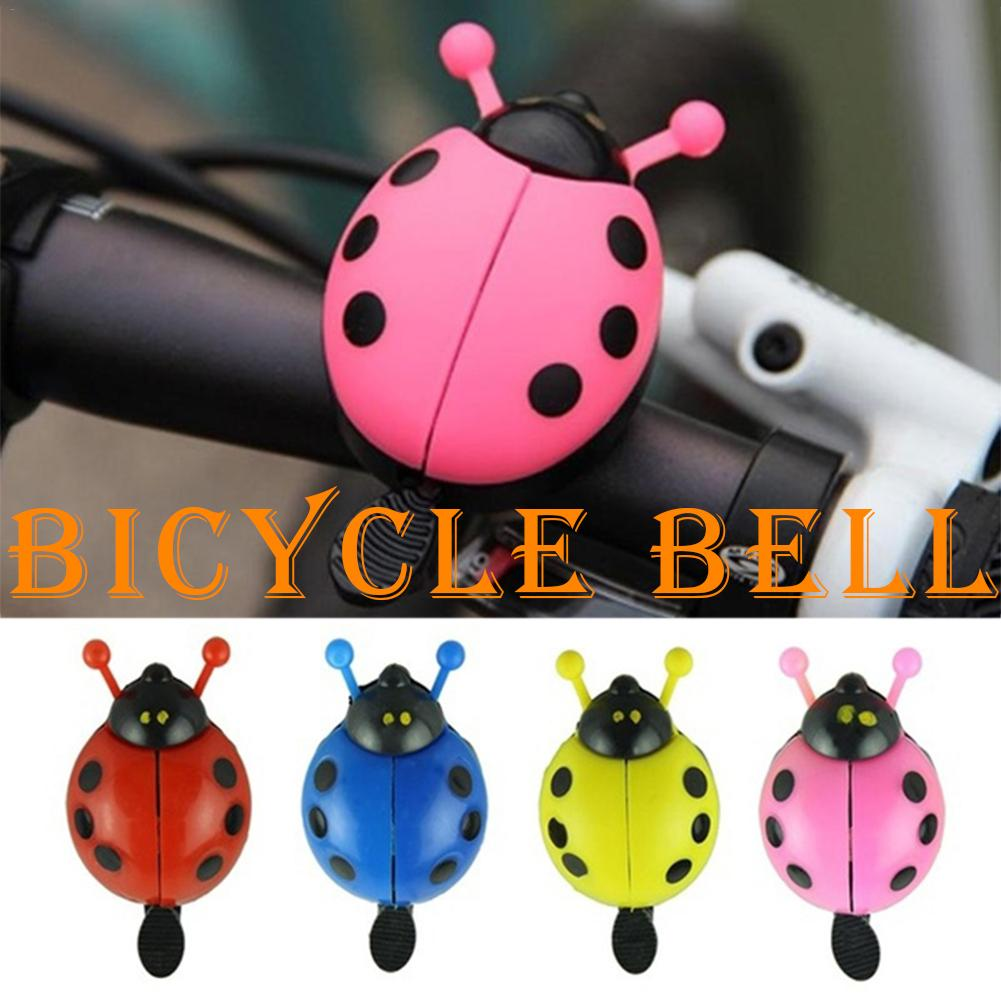 Funny Bicycle Bell Exquisite Bike Bell New Ladybug Cycling Bell Outdoor Fun Sports Bike Ring Camping Accessories Bicycle Parts