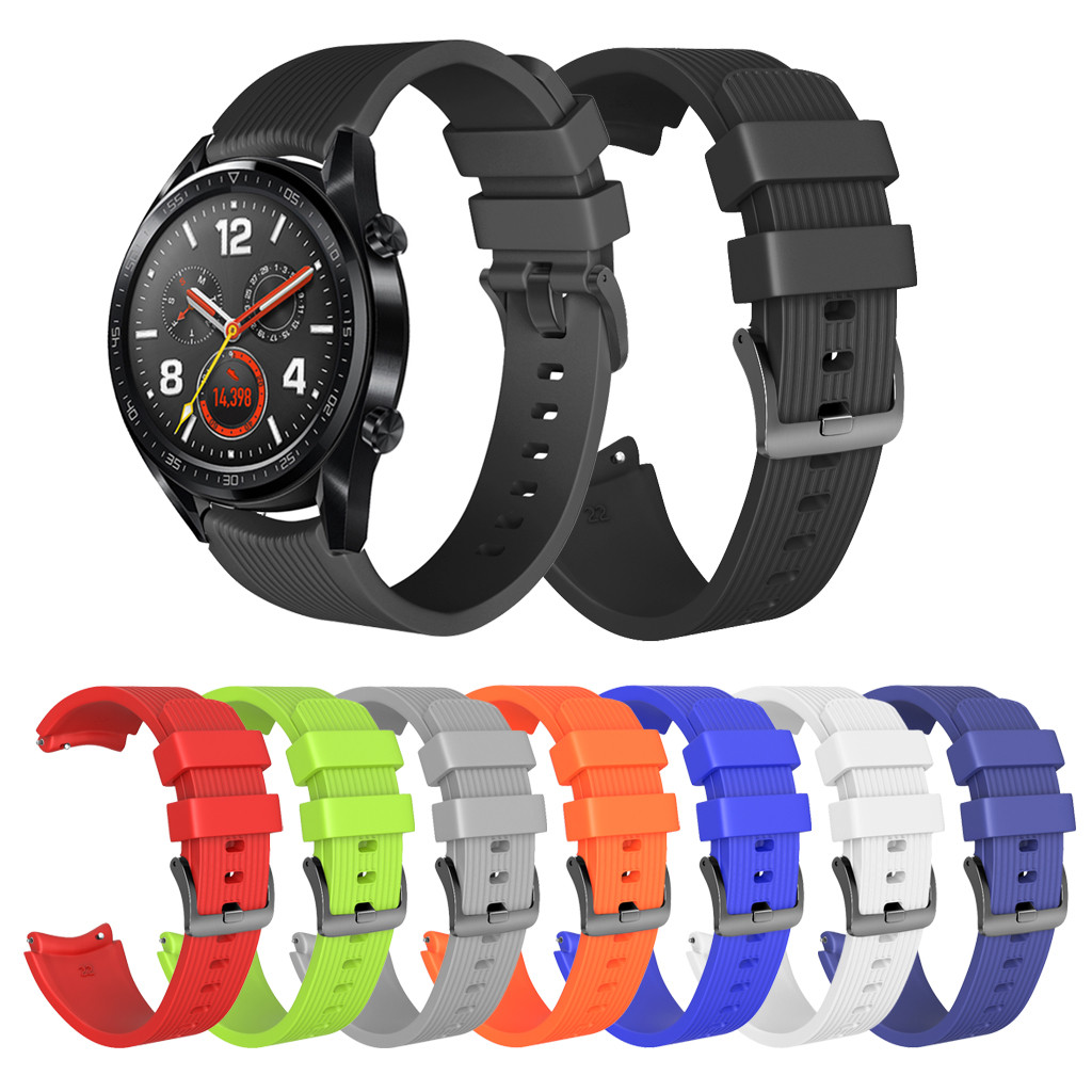 Wrist-Strap Watch-Band Soft-Silicone for Huawei GT -20 Replacement Fashion