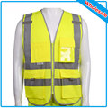 50 pcs material de poliéster visibilidade segurança jaqueta colete de segurança refletivo tiras orange amarelo desgaste do trabalho uniformes clothing