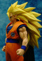 Dragon Ball Z Son Goku 1/8 escala pintado Super Saiyajin goku Boneca PVC Action Figure Collectible Modelo Toy 20 cm KT2861 ACGN