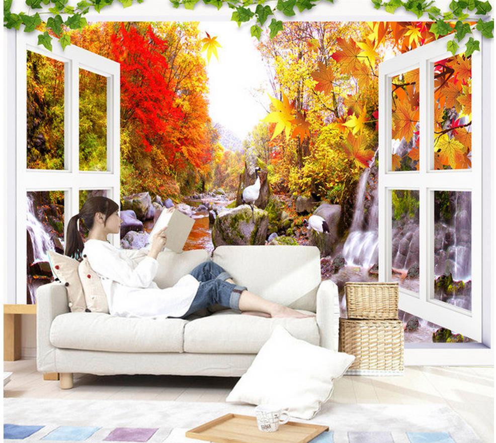 Download 7100 Koleksi Wallpaper Pemandangan Daun Paling Keren